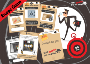 jeu escape room enfant
