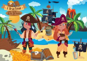 chasse au tresor pirate anniversaire